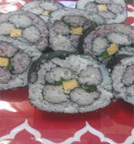 Beautiful hana shushi making